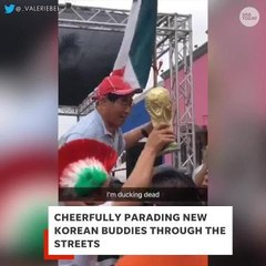 South Korea and Mexico became besties at the World Cup