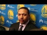 "Mark Jackson Calls the Warriors an ""Old-School"" Team"