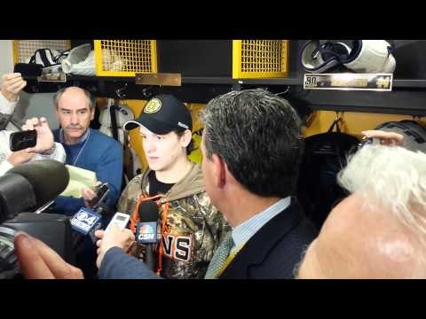 Torey Krug on Boston Bruins win over Panthers 11.7.13
