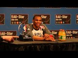NBA All-Star Game MVP Russell Westbrook's Post Game Press Conference