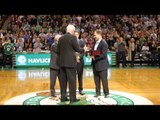 John Havlicek 50th Anniversary Celtics' Tribute Ceremony