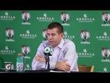 Brad Stevens on Celtics win over DeMarcus Cousins' Kings