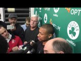 Isaiah Thomas on Boston Celtics NBA Playoffs matchup vs. Chicago Bulls