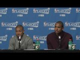 Isaiah Thomas and Al Horford on Thomas' Missing Tooth & Celtics Rallying for Game 1 Win Over Wizards