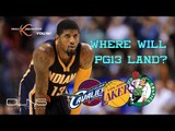 Where Is PAUL GEORGE Headed & Should The LAKERS Be Scared?
