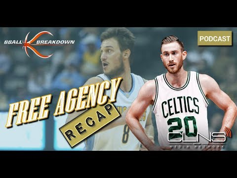 HAYWARD To The CELTICS, Gallinari To CLIPPERS, NBA Free Agency w/ COACH NICK