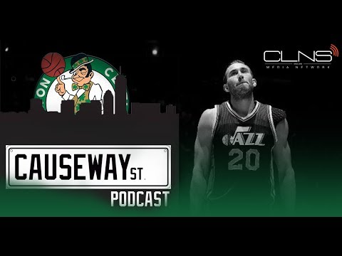 Celtics introduce Gordon Hayward + NBA Free Agency & Summer League talk