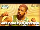 Kyrie Irving Trade Finalized: Will CELTICS Become Title Contenders?  - CELTICS ROUNDTABLE