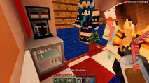 512.Minecraft Camping - WHAT DID WE DRINK- TRAPPED IN A DOLLHOUSE!- (Minecraft Roleplay)