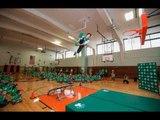 [News] Boston Celtics, Boston Scientific Renovate School Gym in Gardner | Ray Allen Continues...