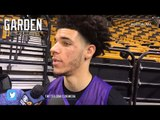 LAKERS' Practice: LONZO BALL on his BROTHER'S arrest in CHINA + Luke Walton on 08 CELTICS vs LAKERS