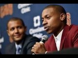 Isaiah Thomas Wants to Stop Talking About Cleveland Cavaliers Trade   Al Horford, Kyrie Irving...