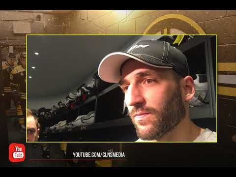 (full) PATRICE BERGERON ready to get back to work w/ BRUINS after NHL All-Star break