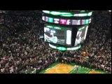 Paul Pierce during Celtics intros
