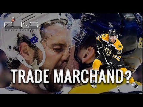 Should the BRUINS trade BRAD MARCHAND?