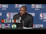 AL HORFORD on JR SMITH Dirty Play + CELTICS Teammates Backing Him Up in Game 2 vs CAVS