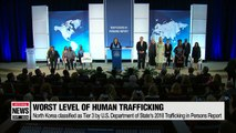 U.S. Human Trafficking Report, evaluates North Korea as the country with the worst human trafficking problem