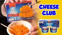 BoxMac 116: Cheese Club Express Mac, Four Cheese, and Sharp Cheddar