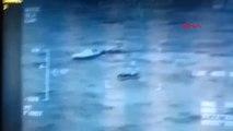İzmir Batmak Üzere Olan Kaçakları Sahil Güvenlik Kurtardı