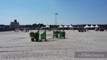 Sports  équestres (Saut d'obstacles) - Extrait du Horse Pilot Jump Festival à l'hippodrome de Wallonie