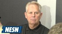 Danny Ainge recaps the Celtics strategy during the NBA Draft