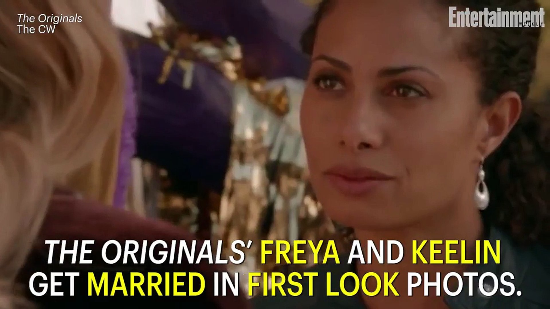 'The Originals' First Look: Freya And Keelin Get Married | News Flash | Entertainment Week