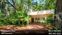 Single Family For Sale: 1805 Espanola Dr Coconut Grove,  $1300000