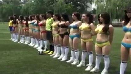 Femmes - football drôle parodie