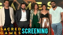 Sacred Games Special Screening   Saif Ali Khan, Nawazuddin Siddiqui   FULL EVENT   UNCUT