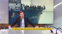 """Crise migratoire : il faut de """"l'humanité et de la dignité vis-à-vis de personnes en souffrance qui fuient la guerre, la famine, des conditions de vie difficiles"""", affirme Pierre-Yves Bournazel #8h30politique"""