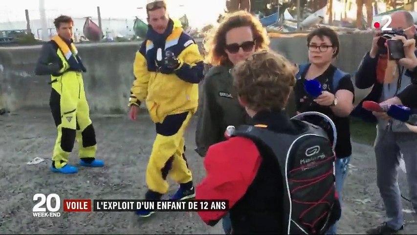 Voile : l'exploit d'un Breton de 12 ans