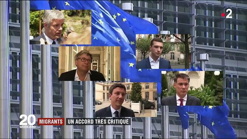 Migrants : un accord européen très critiqué