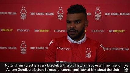 Interview de Hilal Soudani à Nottingham Forest