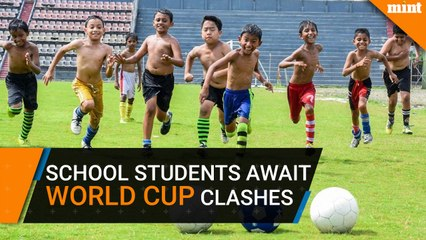 School students in Siliguri await World Cup clashes