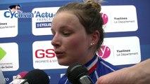 Championnats de France 2018 - Dames  :  Gladys Verhulst deuxième et championne de France Espoirs