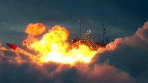 Japanese rocket crashes and explodes straight after lift-off