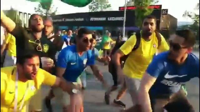 "Messi ciao, la reprise brésilienne de ""bella ciao"""