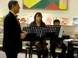 concert du conservatoire d'agglomération