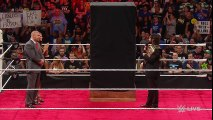 Sting ambushes Triple H and Seth Rollins- Raw, Aug. 24, 2015
