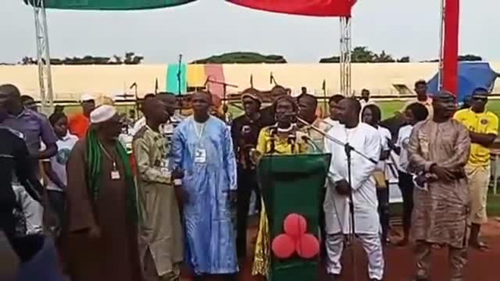 Ras Bath - Sikasso- Lancement des activités du Candidat Kalifa Sanogo