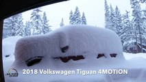 2018 Volkswagen Tiguan 4MOTION driveway rescue under a Lake Tahoe snow storm
