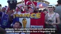 Les supporters français exultent après la victoire des Bleus (2)