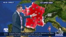 Chaleurs et orages: les températures vont monter jusqu'à 37C° ce dimanche