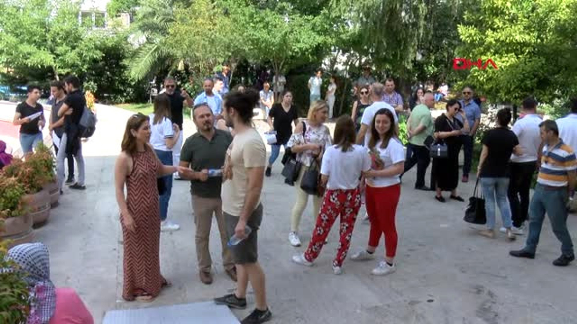 Dha İstanbul Yks'nin İkinci Oturumu Başladı -2