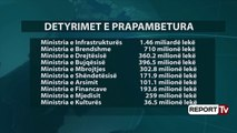 Detyrimet e prapambetura, Financat: Janar 2016-Mars 2018, shteti krijon 33.3 mln € borxhe