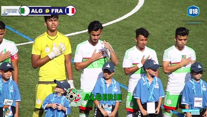 U18 : Résumé JM 2018 ( Algérie 0-1 France )
