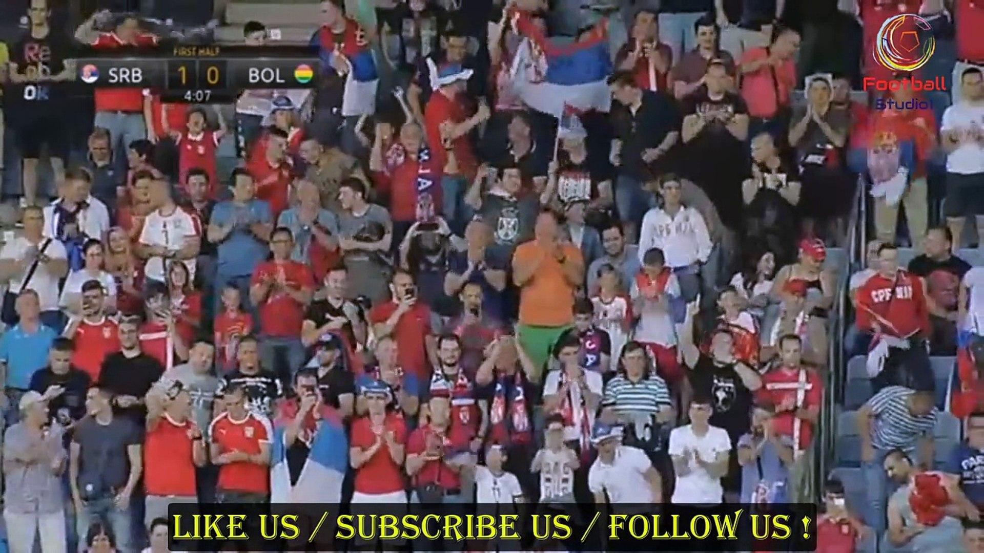 Srbija 5 - 1 Bolivija | All Goals | Golovi | Sažetak HD (09/06/2018 Friendlies)