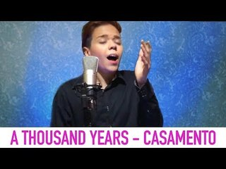 Christina Perri - A Thousand Years (Cover por Kassyano Lopez - Casamento)
