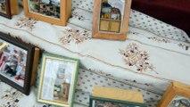 Mini-vitrines au village provençal de Waremme