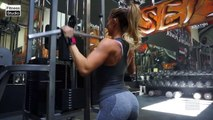 FITNESS MODEL PAIGE HATHAWAY - WORKOUT, EXERCISES AND DIET